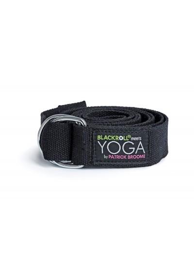 BLACKROLL® YOGA BELT - pasek do jogi najwyższej jakości, wspomagający utrzymanie i pogłębianie asan oraz ułatwiający rozciąganie