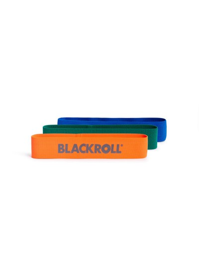 BLACKROLL® LOOP BAND SET - zestaw taśm do treningu i ćwiczeń - mini band