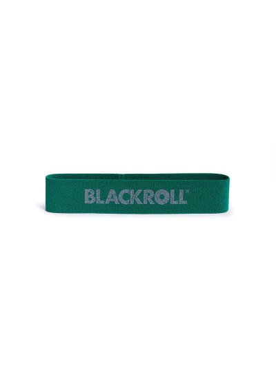 BLACKROLL LOOP BAND mini taśma do treningu i rehabilitacji - zielona średnia
