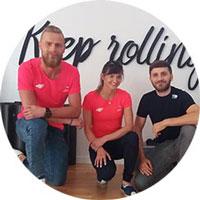 Z Blackroll korzystają JOANNA MAZUR & MICHAŁ STAWICKI
