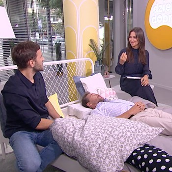 BLACKROLL® RECOVERY PILLOW w Dzień Dobry TVN - zdrowy sen to dobrze dobrana poduszka !
