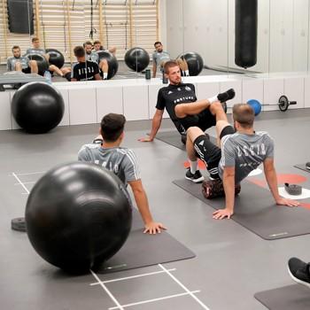 Sprzęt BLACKROLL® na treningu Legii Warszawa