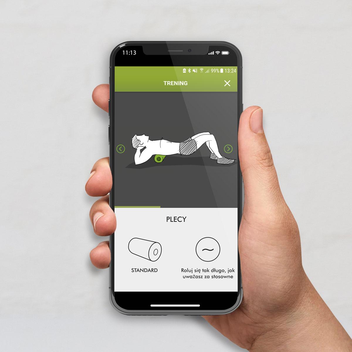 Aplikacja BLACKROLL ćwiczenia