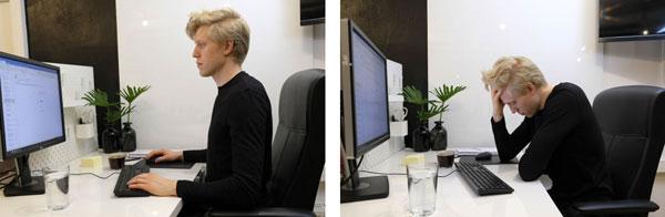 Jak utrzymywać prawidłową postawę podczas pracy przy biurku? BLACKROLL POLSKA