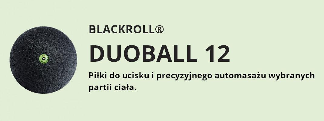 Blackroll Duoball 12 piłka do ucisku i precyzyjnego automasażu wybranych partii ciała