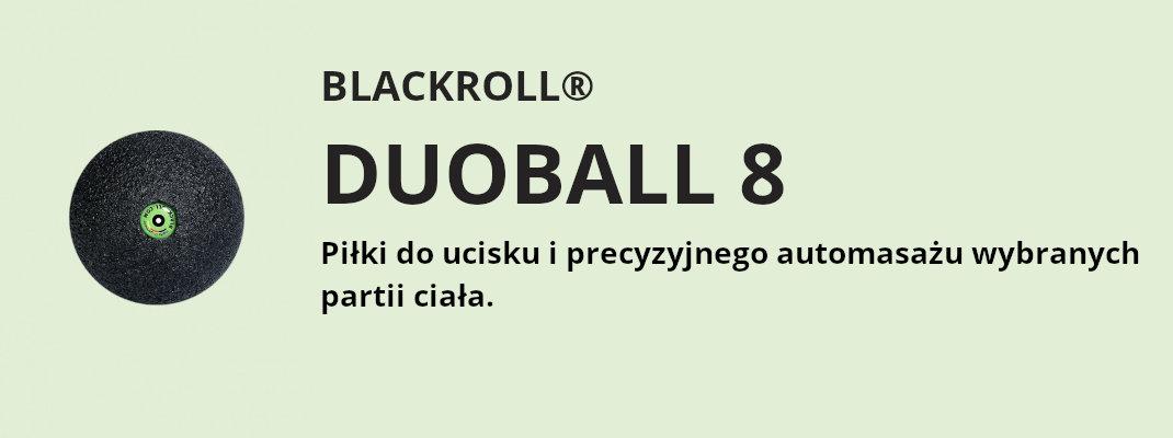 blackroll duoball 8 piłka do ucisku i precyzyjnego automasażu wybranych partii ciała