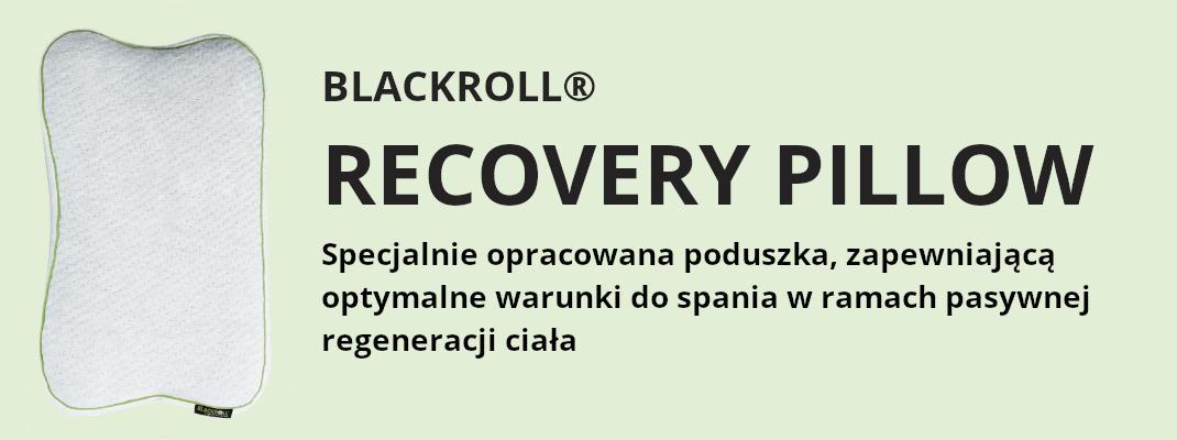 poduszka ortopedyczna blackroll recovery pillow